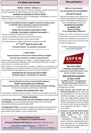 agenda MDF special 25 novembre 2018-2